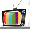 Tv Clipart Vector Image