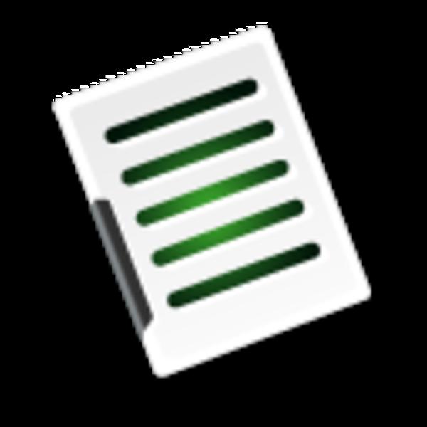 free clipart document icon - photo #22