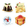 Christmas Icons Set 4x64 Preview 1 Image