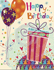 Happy Birthday Card Clipart Image
