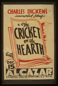 Charles Dicken S Immortal Play  The Cricket On The Hearth  Image