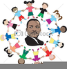 Martin Luther King Free Clipart Image