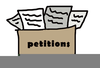 Freedom Of Petition Clipart Image