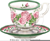 Free Clipart Royalty Tea Cups Border Image