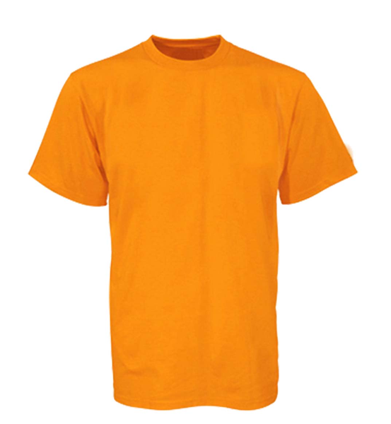 Plain blank t shirts yellow free images at for Plain t shirt template