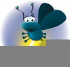 Animated Fireflies Clipart Image