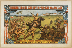 William H. West S Great Achievement, The Storming Of San Juan Hill Image
