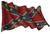 Confederate Rebel Historic Flag Image