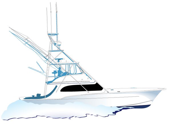Deep Sea Fishing Boat Clipart Free Images At Clker Com Vector Clip Art Online Royalty Free Public Domain
