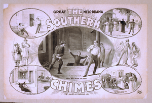 The Southern Chimes Great Melo-drama : By James W. Harkins, Jr. Image