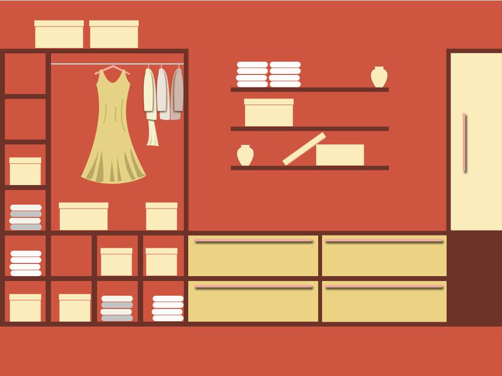 Closet Door Clip Art Wardrobe image - vector clip
