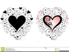 Heart With Swirls Clipart Image