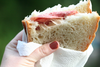 Salami Sandwitch Image