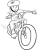 Free Clipart Of Kids Riding Bikes Image
