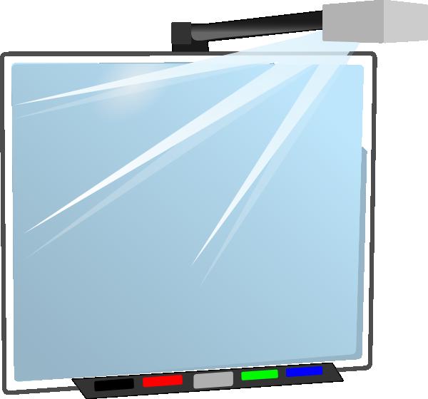 interactive board clip art at clker com vector clip art Whiteboard Clip Art Calendar Clip Art