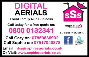 Digital Aerials Business Card Image