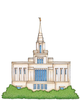 Free Lds Temple Clipart Image