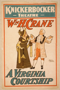 Wm. H. Crane. A Virginia Courtship Image