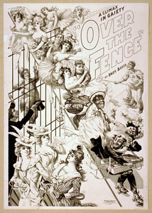 A Climax In Gaiety, Over The Fence By Owen Davis. Image