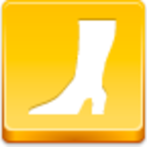 Free Yellow Button High Boot Image