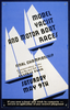 Model Yacht And Motor Boat Races Final Championship, Conservatory Lake 72nd St. And 5th Ave., Central Park. Image