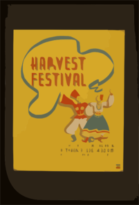 Harvest Festival On The Mall, Central Park  / M. Weitzman. Clip Art