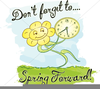 Daylight Savings Time Clipart Spring Forward Image