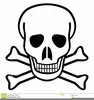 Scull Crossbones Clipart Image