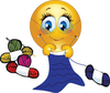 Crochet Animated Clipart Image