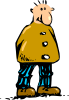 Man Standing Cartoon 2 Clip Art