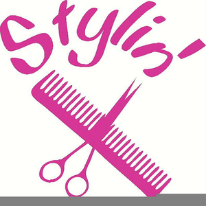 Free Hair Stylist Clipart Image