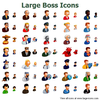 Large Boss Icons Image