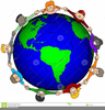 Children Around The World Clipart Free Image