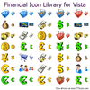 Financial Icon Library For Vista Image