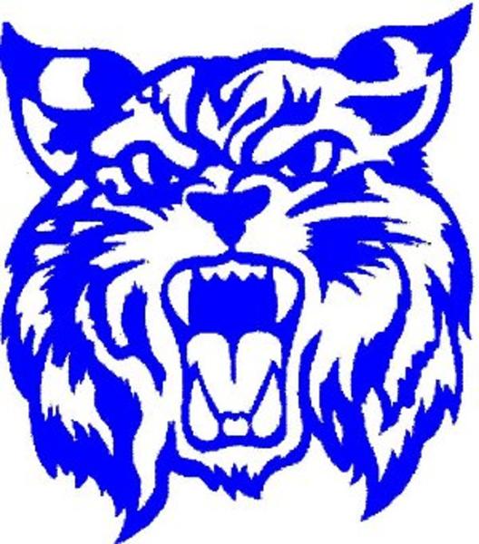 wildcat logo blue free images at clker com vector clip Football Eagle Mascot Clip Art eagle mascot clipart free