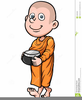 Clipart Of Religious Monk Image