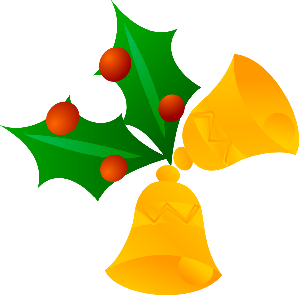 christmas bells rotated clip art at clker com vector clip art rh clker com christmas bell clipart free christmas bells clip art images