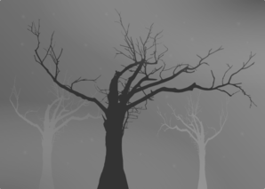 Tree With No Leaves Silhouette Clip Art