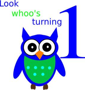 Look Whos Turning One Camden Clip Art