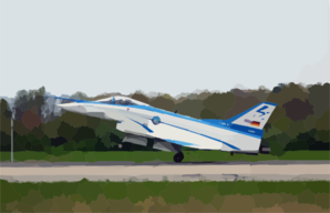 The X-31 Vector (vectoring, Extremely Short Takeoff And Landing, Control And Tailless Operation Research) Makes World S First Automated Thrust-vector Estol Landing At Patuxent River Clip Art