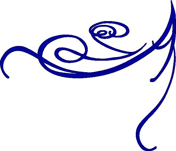 Corner Blue Clip Art At Clker