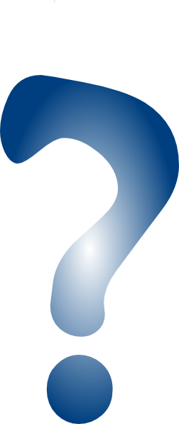 Line Drawing Question Mark : Question mark blue no line clip art at clker vector