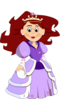Beautiful Princess Clip Art