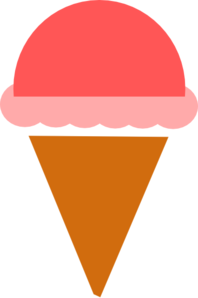 Ice Cream Silhouette Clip Art