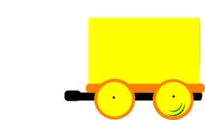 Toot Toot Train And Carriage Clip Art