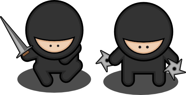 cartoon ninja clip art - photo #4