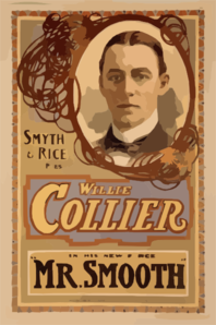 Smyth & Rice Present Willie Collier In His New Farce Mr. Smooth Clip Art