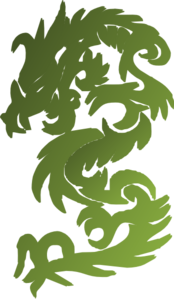 Green Chinese Dragon Clip Art