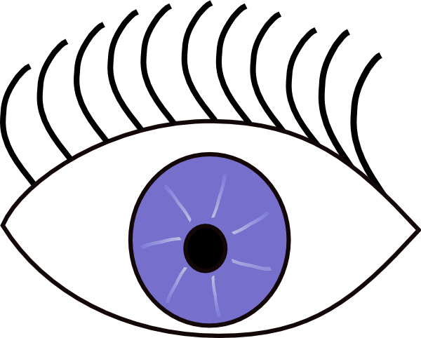 blue eye looks left clip art at clker com vector clip art online rh clker com clipart look at the board lock clipart