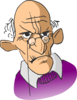 Old Man Cartoon Clip Art
